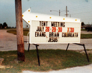 1989 Tent Meeting